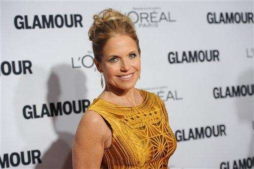 Katie Couric attends Glamour Magazine's 22nd annual