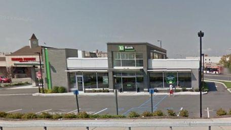 Exterior shot of the TD Bank branch at