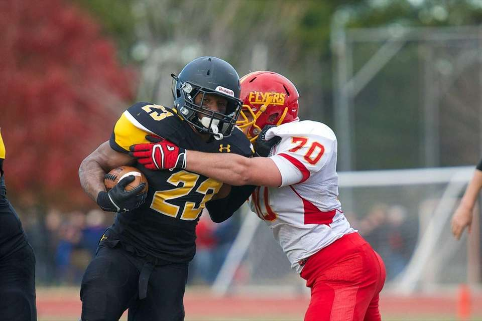 St. Anthony's running back Jordan Gowins (23) is