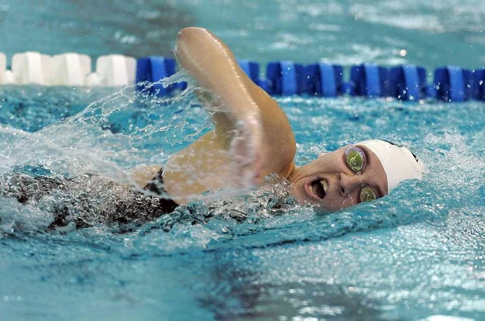 Babylon's Julianne Koch finished third in the finals