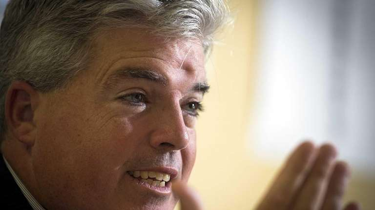 Suffolk County Executive Steve Bellone talks about his