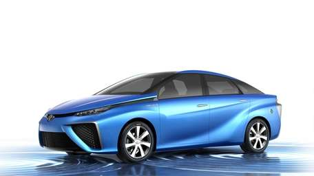 Toyota's concept fuel-cell vehicle could be a reality