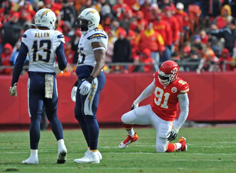 Defensive end Tamba Hali of the Kansas City