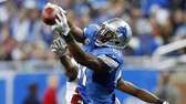 Detroit Lions wide receiver Calvin Johnson (81), defended