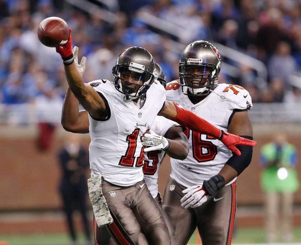 Tiquan Underwood #11 of the Tampa Bay Buccaneers