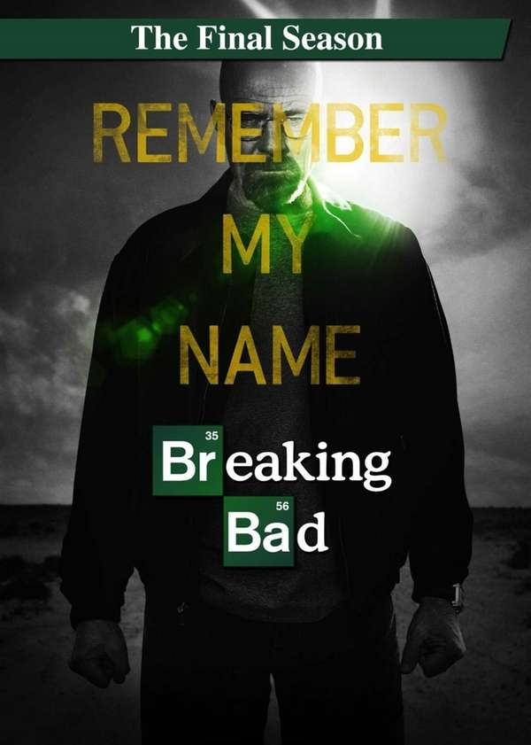Breaking Bad's final season on DVD.