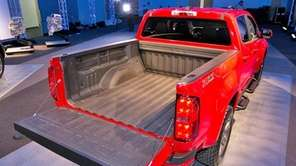 The 2015 Chevrolet Colorado was unveiled at the