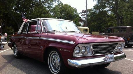 The 1965 Studebaker Daytona owned by Bob Andreocci.