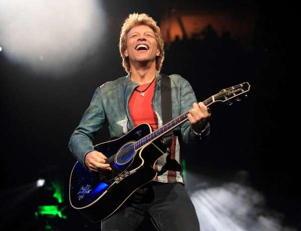 Jon Bon Jovi performs in concert with his