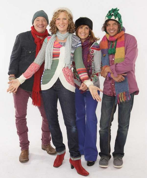 A live performance by The Laurie Berkner Band