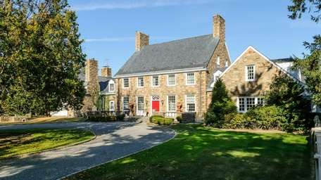 This stone mansion in Glen Cove, built by