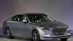 Hyundai Motor's all-new luxury sedan, the Genesis, is