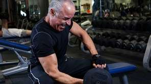 Ciraulo trains at Synergy Fitness in Garden City