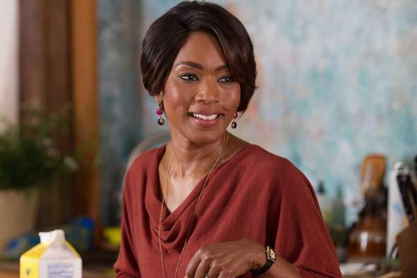 "Angela Bassett in a scene from ""Black Nativity."""