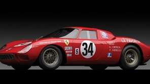 This 1964 Ferrari 250 LM sold for $14.3