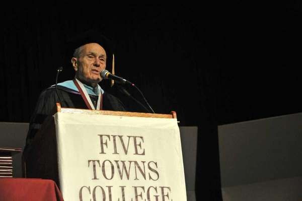 Dr. Stanley Cohen, president of Five Towns College,