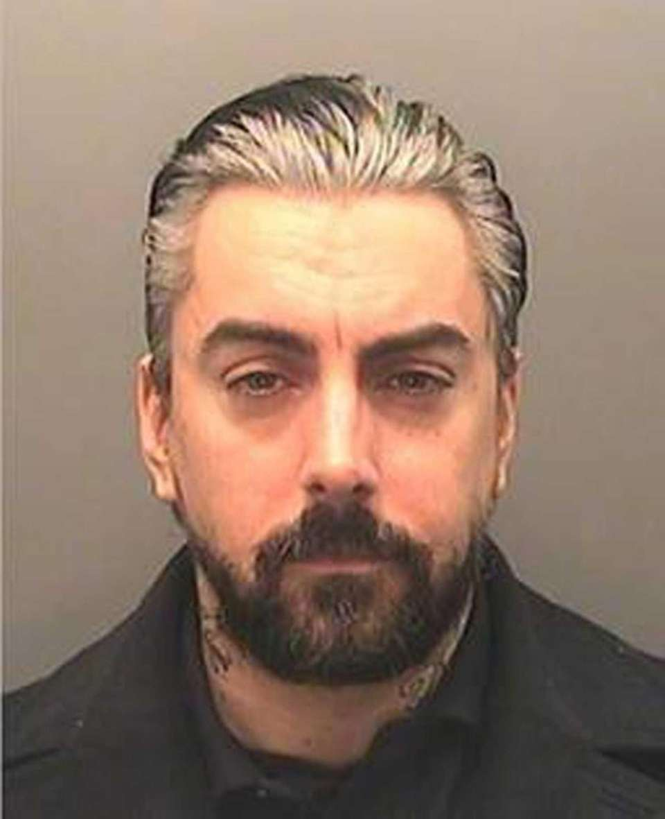 Ian Watkins, former Lostprophets singer, in a South