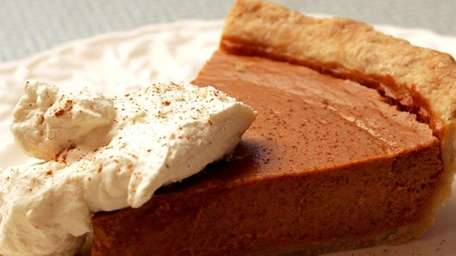 PUMPKIN PIE: The classic that, for some, makes