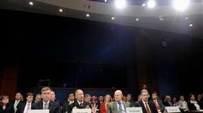 From left, National Security Agency Deputy Director Chris