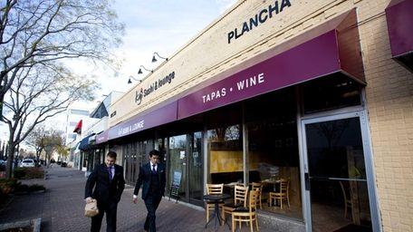 Plancha Tapas and Wine Bar in Garden City.