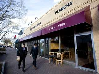 Plancha Tapas and Wine Bar in Garden City.