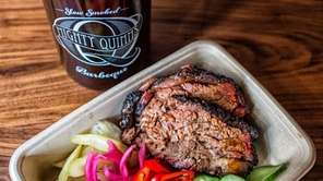 A plate of barbecue at The Mighty Quinn's,