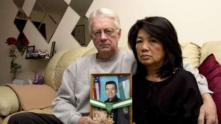 When May Schaberger, 63, a Vietnamese-American who speaks