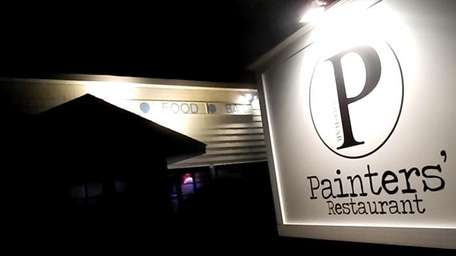 The sign for the recently reopened Painters in