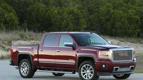On the 2014 GMC Sierra full size pickup,