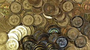 Bitcoin tokens in Sandy, Utah. Las Vegas' D