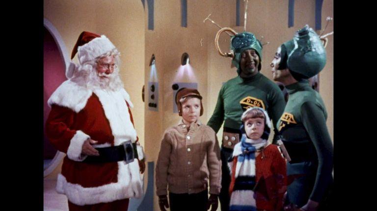 John Call as Santa, Victor Stiles as young