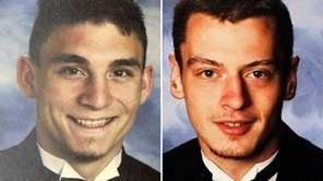 Thomas Liming, 21, left, turned himself in and