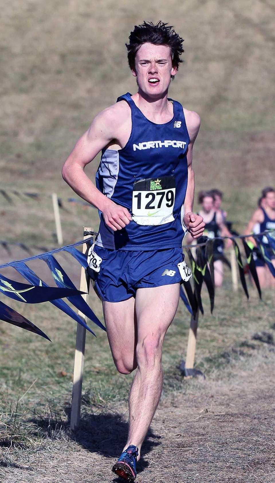 Northport's Mike Brannigan moves into first place coming