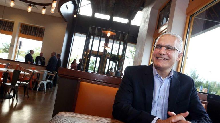 J. David Karam, CEO and chairman of Sbarro,