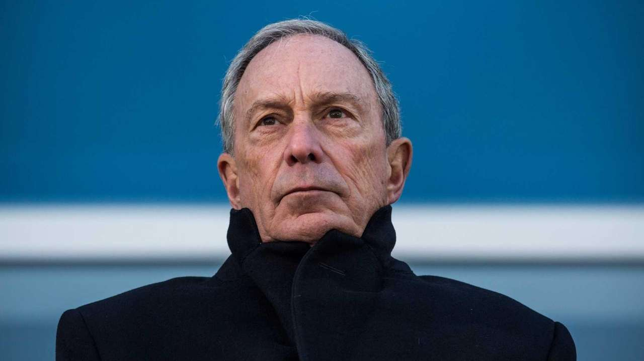 Mayor Michael Bloomberg speaks at the opening ceremony