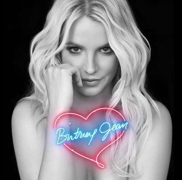 Album cover for Britney Spears'