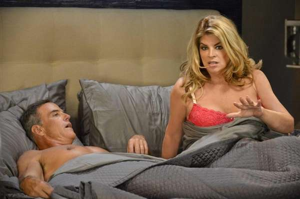 Maddie (Kirstie Alley) struggles to adapt to her
