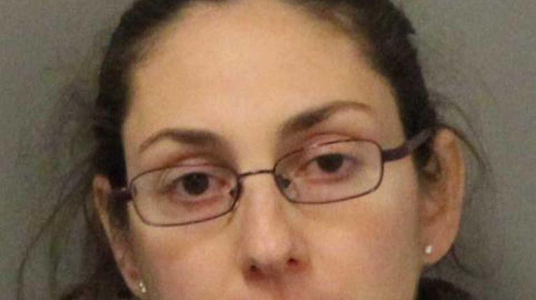 Maria Digioia, 36, of Glen Head, was arrested