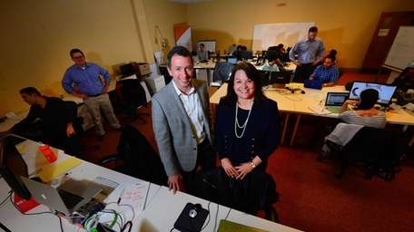 Mark Fasciano, founder of the business incubator, Thought