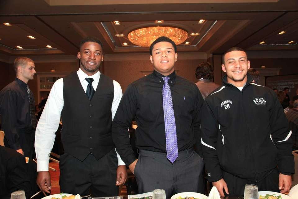 All-County honorees From Left; Jowan Jenkins, DaShawn Morton