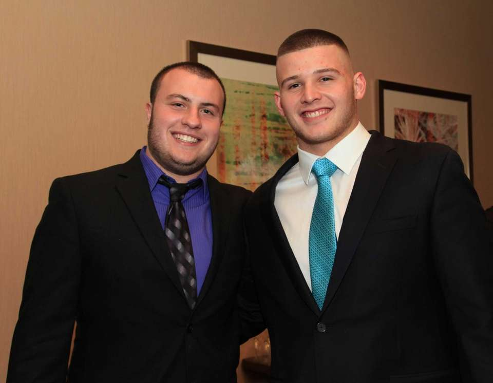 From Left; Logan Greco and Daniel Cox of