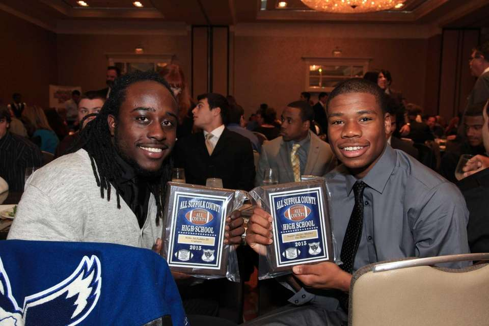 2013 All-County recipients celebrate their honor at the
