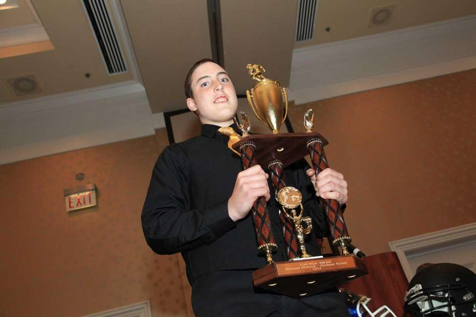 12th Man Award winner Michael Slattery of Sachem