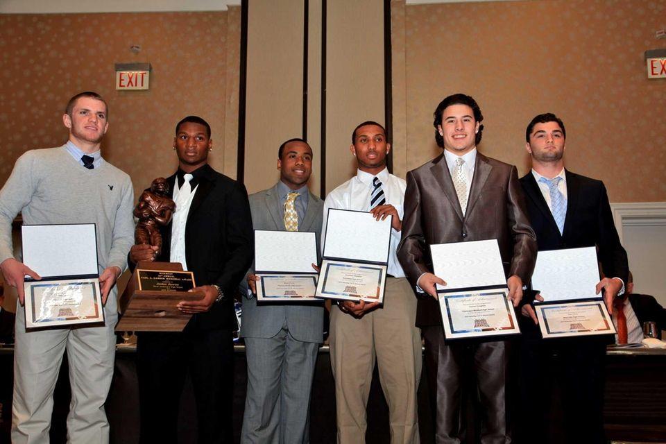 Hansen Award 2013 Finalists and winner Jordan Gowins.