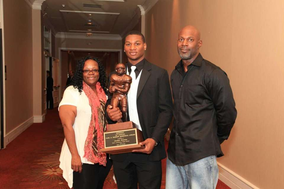 Proud parents of 2013 Hansen Award Winner From