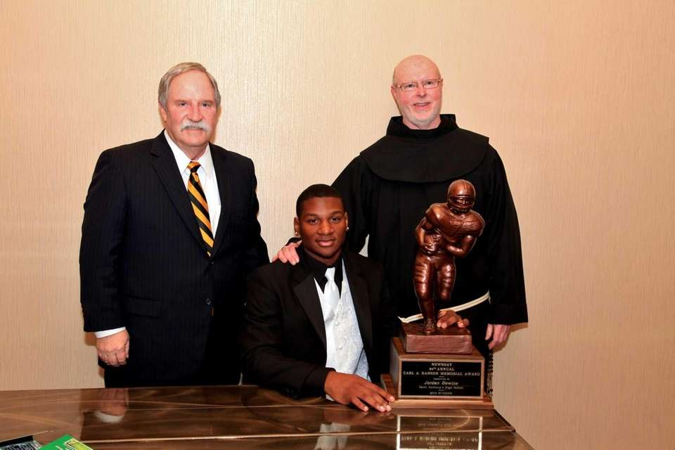 From Left; St. Anthony's Athletic Director Don Buckley,