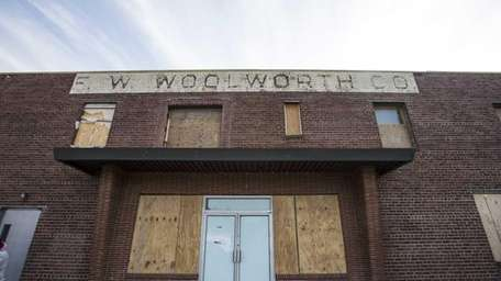 The former Woolworth building in downtown Riverhead will