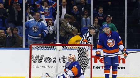 Anders Nilsson and Calvin de Haan of the