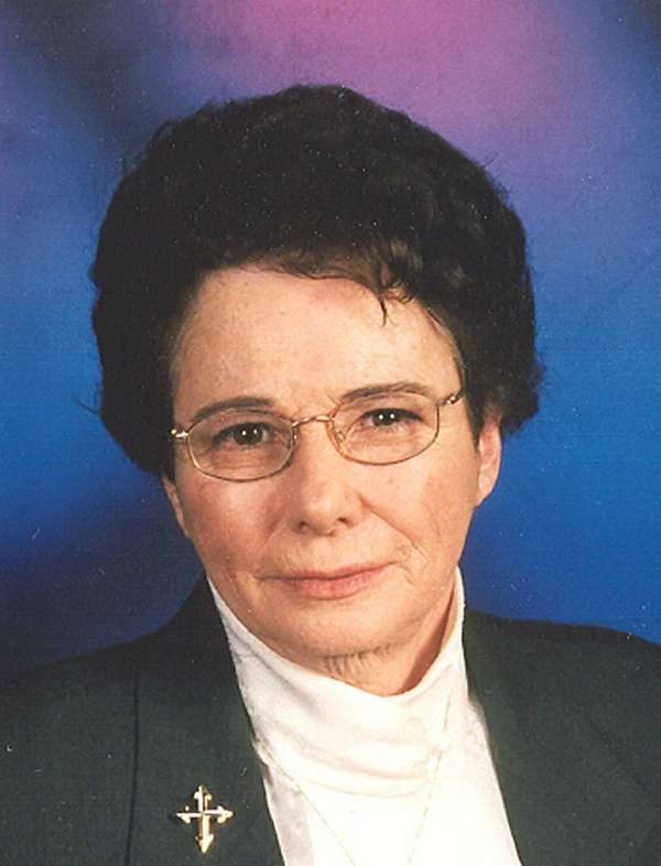 Sister Janet A. Fitzgerald, a member of the