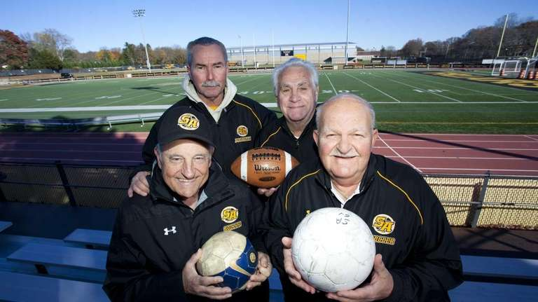 Still having a ball at St. Anthony's High